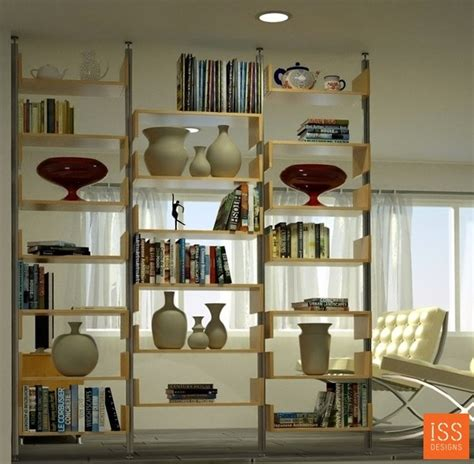 Room Dividing Shelf by Wall Dividers An Attractive Way Of Dividing A Room