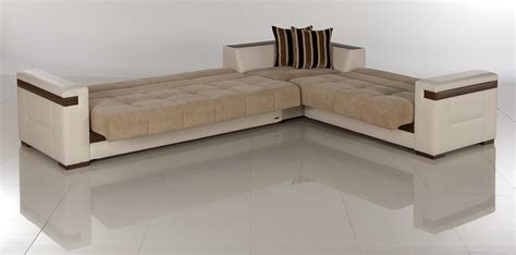 L Shaped Sleeper Sofa by Furniture Beige L Shaped Sof With Size Sleeper Bed