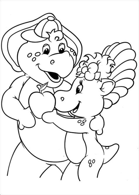 Barney And Friends Coloring Pages - GetColoringPages.com