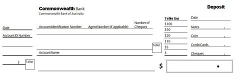 bank deposit form template bank of america blank deposit slip autos post