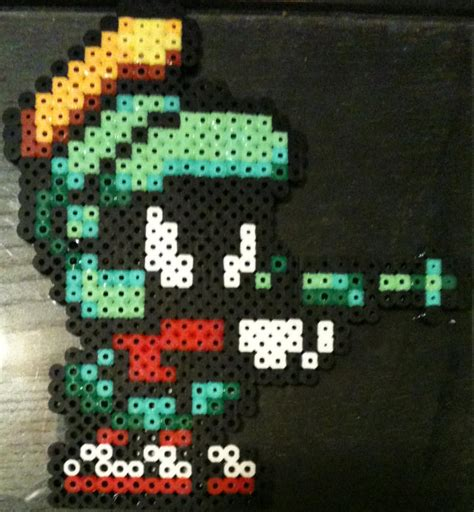 what to do with perler bead creations perler bead creations marvin the martian by rhys michael