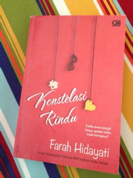 Novel Konstelasi Rindu shita hapsari whatever comes to mind and manages to get away