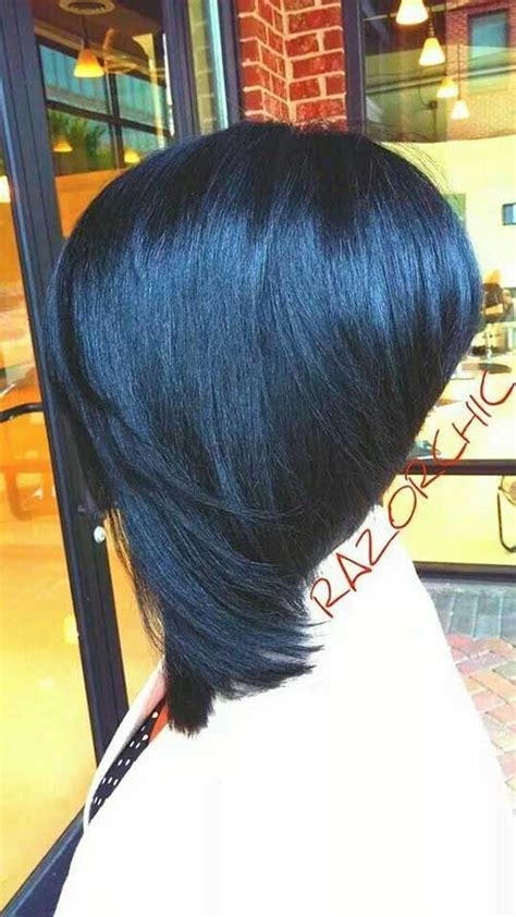 black hair razor cut bob new razor cut bob black women asymmetrical weaves