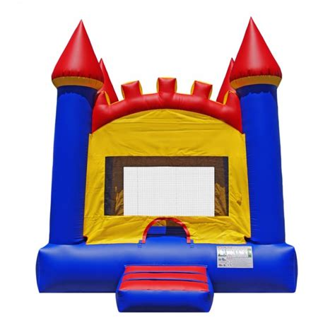 castle bounce house arched castle bounce house