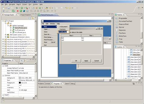 eclipse swing editor visual swing for eclipse dzone java