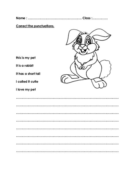 my pet worksheets title my pet