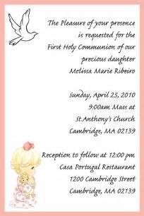 first communion invitation invitation templates