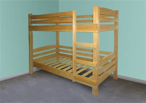 How To Make Wooden Bunk Beds Home Dzine Home Diy How To Make A Diy Bunk Bed