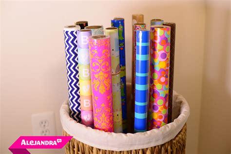 diy gift wrapping diy gift wrap organizer