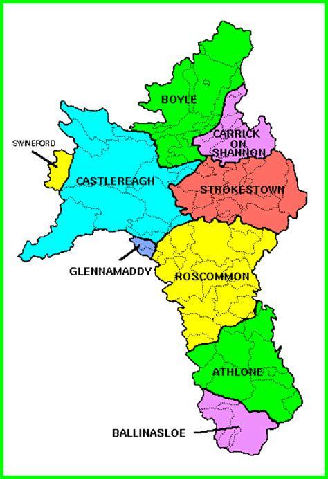 Roscommon Ireland Birth Records Roscommon Ireland Map