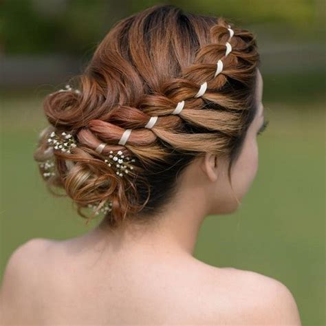 round bun for hair styles 25 flawless medium hairstyles for women with round faces
