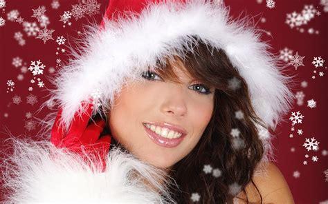 imagenes de navidad mujeres wallpaper de navidad de mujeres lindas im 225 genes taringa