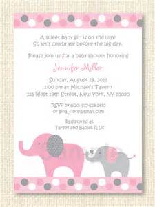 polka dot pink elephant baby shower invitation printable by prints inc catch my