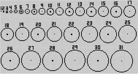 minecraft perfect circle guide birthday ideas