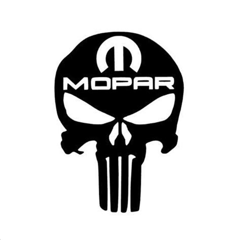 Jeep Skull Sticker Punisher Skull Truck Car Vinyl Decal Window Sticker For