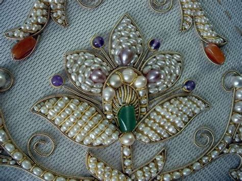 beadwork on fabric best 25 russian embroidery ideas on pearl