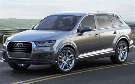 Audi Q7 Different Models by Audi Q7 2016 3d Model Max Obj 3ds Fbx C4d Lwo Lw Lws