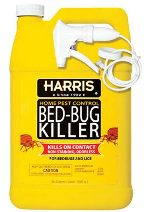 harris bed bug killer spray gel  gallon hbb  ebay