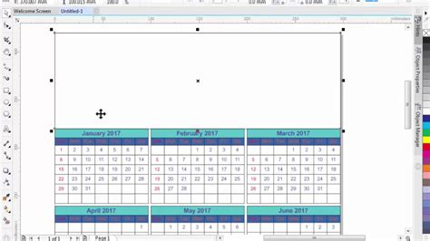 how to design calendar in coreldraw how to create or design a calendar in coreldraw x8 x7 x6