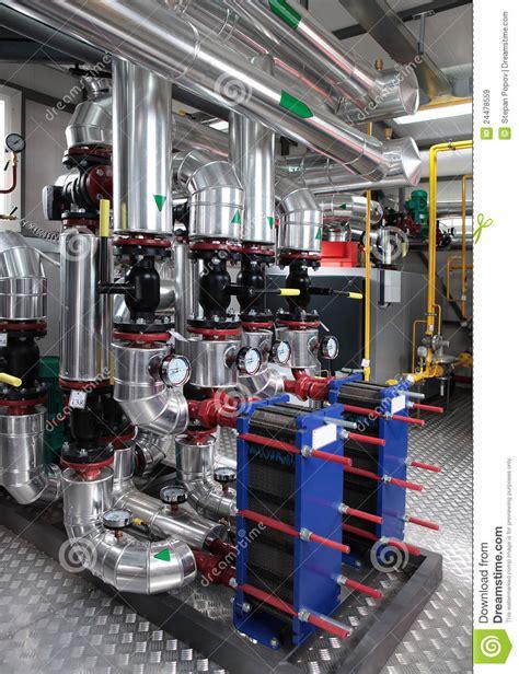 boiler room free modern gas boiler room royalty free stock images image 24478559