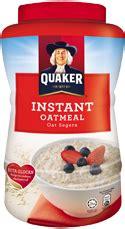 Quaker Instan Oatmeal 800g quaker oats about quaker quaker and the media