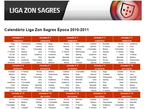 Calendario Da Liga Portuguesa Search Results For Liga Zon Sagres Calendario Calendar