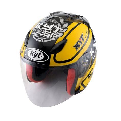 Helm Kyt Nama helm kyt terbaru dj maru yellow moto gp toko importir distributor sparepart motor