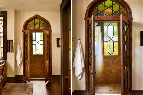 stained glass bathroom door 10 gorgeous stained glass ideas for your home brit co