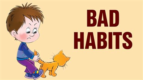 Habits Pictures For Children