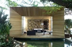 indoor outdoor space home in brazil blends indoor and outdoor spaces