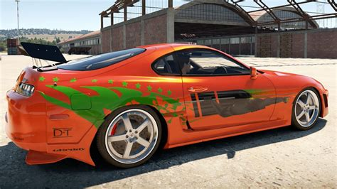 brian fast and furious 1 car forza horizon 2 fast furious cars brian s supra youtube