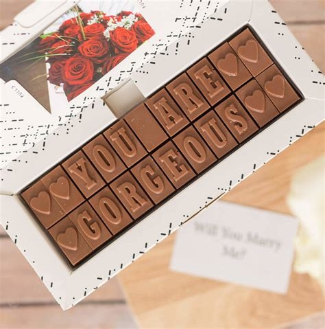 romantic chocolate gift for him by morse toad chocolate