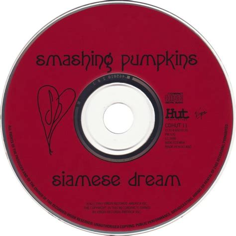 Smashing Pumpkins Sue Records by Smashing Pumpkins Siamese Fonts In Use
