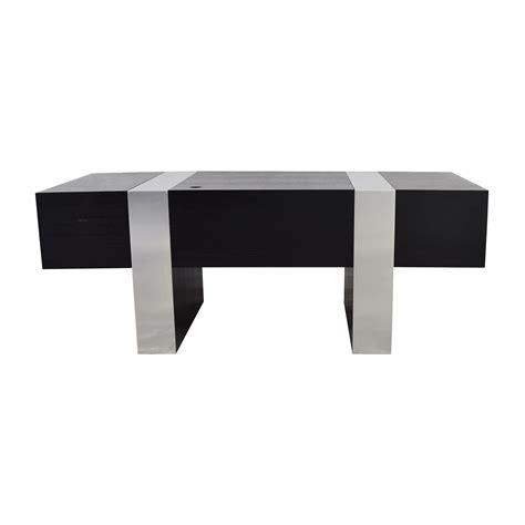 Black And Chrome Desk by Black And Chrome Desk 16423