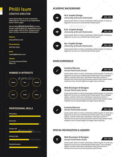 10 Manager Resume Templates Free Word Pdf Psd Proven Resume Templates