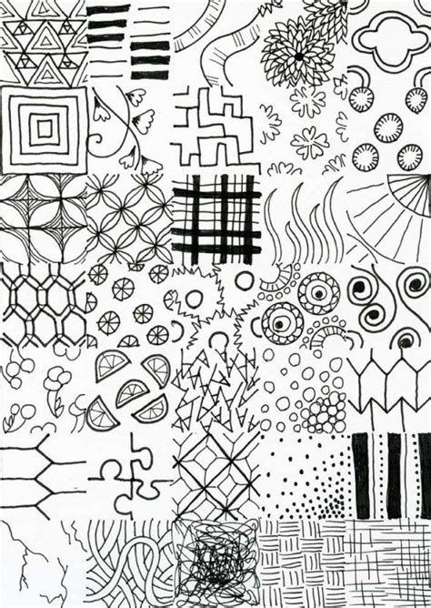 pattern of doodle doodle patterns to draw joy studio design gallery best
