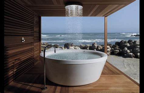 outdoor bathtubs ideas outdoor bathroom ideas 20 modern home design ideas