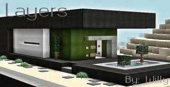 House Building Ideas layers modern house minecraft building inc