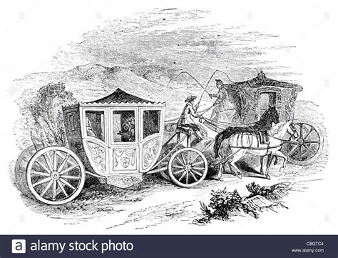 chariot wagen coaches of the time of charles ii coach carriage chariot