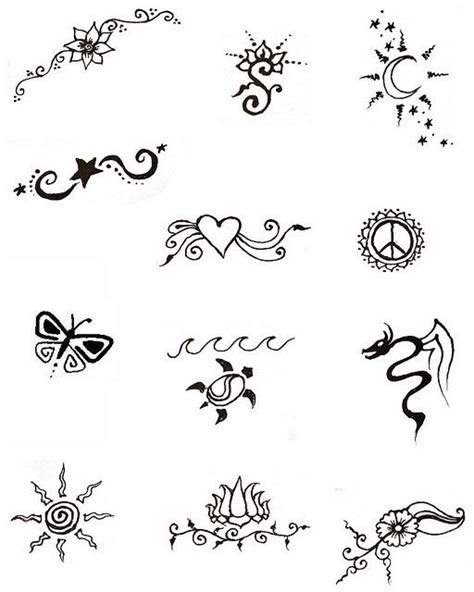small easy to hide tattoos free henna designs by elizebeth joy via flickr henna