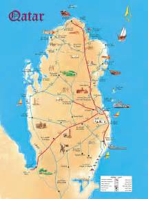 Qatar On World Map by Maps Of Qatar Map Library Maps Of The World