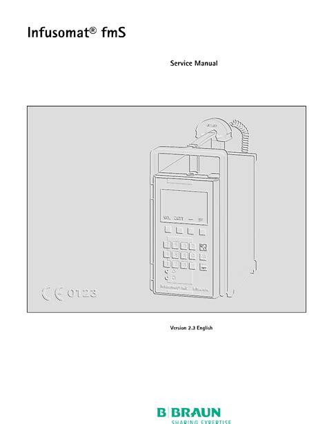 servicerepair manuals ownersusers manuals schematics b braun infusomat fms service manual golden biomed