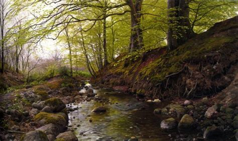 Landscape Paintings Realism Realistic Paintings Landscape Realistic Landscape