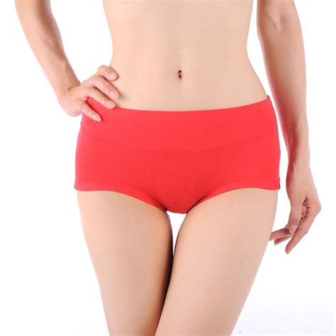 New Women Comfortable Bamboo Fiber Antibacterial