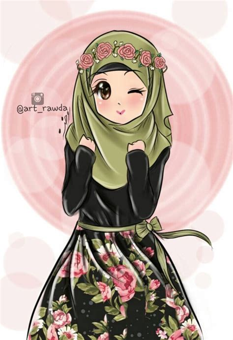hijab anime cartoon  manga images