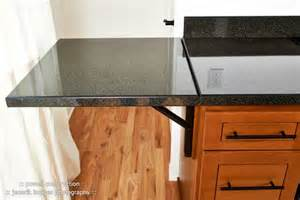 This kitchen has lots of special details like this custom countertop