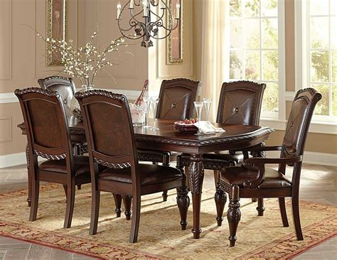 cherry dining room furniture gable formal cherry dining room table set furniture