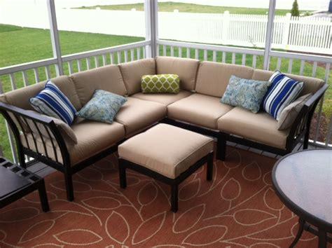 mainstays ragan meadow ii 7 piece outdoor sectional sofa ragan meadow 7 piece outdoor sectional sofa set seats 5