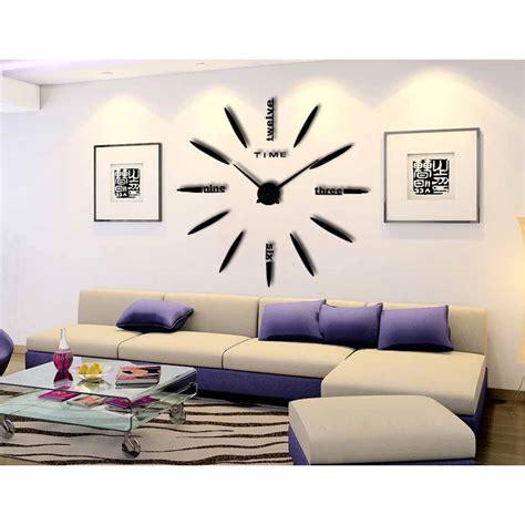 Jam Dinding Raksasa Diy 80 130cm Diameter 002bb jam dinding besar diy 80 130cm diameter elet00661 black jakartanotebook