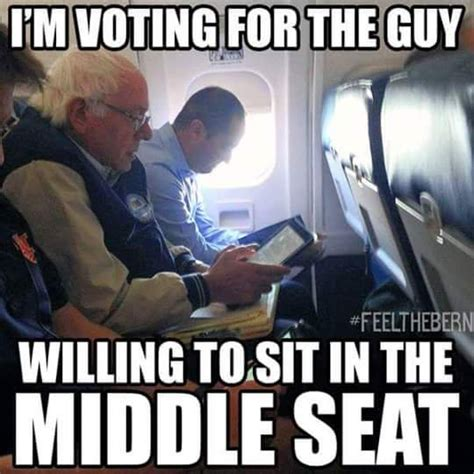 The Middle Memes - social media erupts with pictures of bernie sanders flying